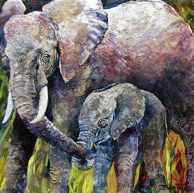 Painting - Guidance by Bonny Roberts