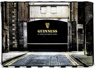 Guinness Print by David Harding