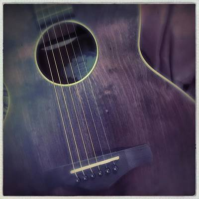 Photograph - Guitar by Anne Thurston
