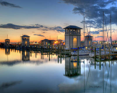 Photograph - Gulfport Harbor by Don Schiffner