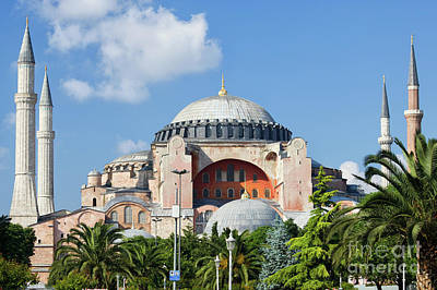 Hagia Sophia In Istanbul Art Print by Artur Bogacki