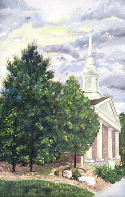 Painting - Hale Street Chapel by Nila Jane Autry