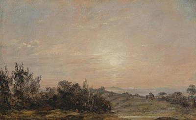 Painting - Hampstead Heath Looking Towards Harrow by John Constable