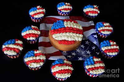 Happy 4th July Original by Tracy  Hall