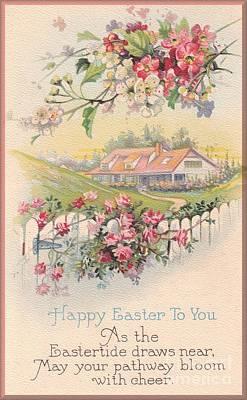 Digital Art - Happy Easter by David and Lynn Keller