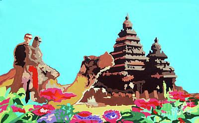 Painting - Happy Journey by Ragunath Venkatraman