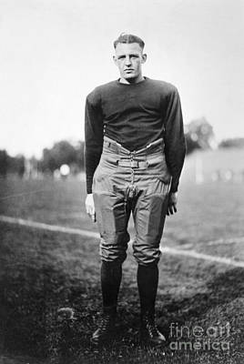 Photograph - Harold (red) Grange by Granger