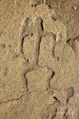 Hawaiian Petroglyph Art Print