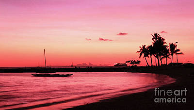 Photograph - Hawaiian Sunset by Kristine Merc