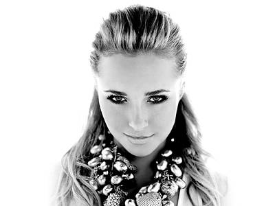 Hayden Panettiere Photograph - Hayden Panettiere by Kimmy Jardetzky