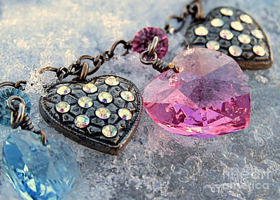 Photograph - Hearts by Janice Drew