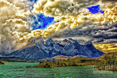 Photograph - Heavy Clouds by Rick Bragan