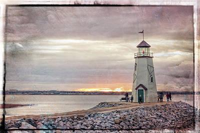 Photograph - Hefner Sunset by Ricky Barnard