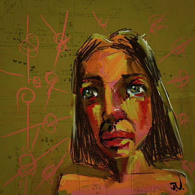 Digital Art - Helen by Jim Vance