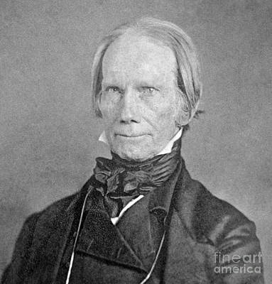 Photograph - Henry Clay by Granger