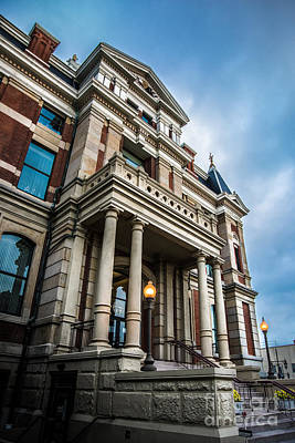 Photograph - Henry County Courthouse Napoleon, Ohio by Michael Arend