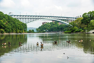 Photograph - Henry Hudson Bridge by Cole Thompson