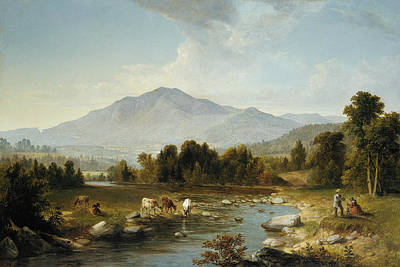 Painting - High Point - Shandaken Mountains by Treasury Classics Art