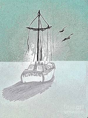 High Seas Sailing Original