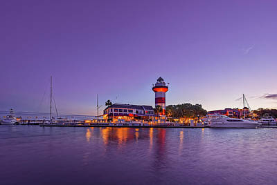 Photograph - Hilton Head Island Lighthouse by Peter Lakomy