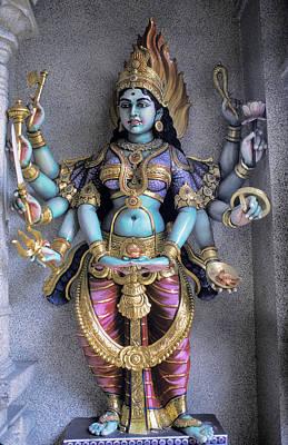 Zen Garden - Hindu Goddess Kali by Carl Purcell
