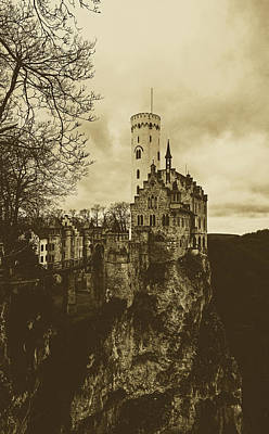 Photograph - Historic Lichtenstein Castle by Pixabay