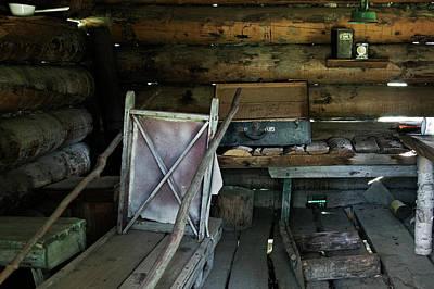 Af Vogue - Historic Log Trappers Cabin by Robert Braley