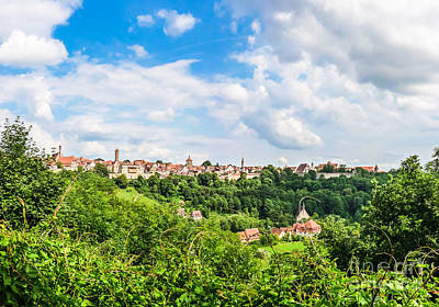 Rothenburg Photograph - Historic Town Of Rothenburg Ob Der Tauber by JR Photography
