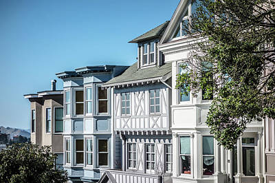 Lucille Ball Royalty Free Images - Historic Victorian Home in San Francisco California USA Royalty-Free Image by Alex Grichenko