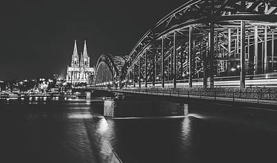 Photograph - Hohenzollern Bridge, Cologne by Pixabay