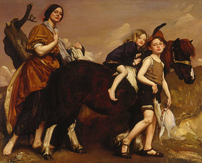 Painting - Holiday In Essex by George Washington Lambert
