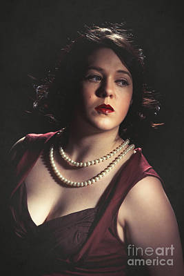 Femme Fatale Photograph - Hollywood Glamour by Amanda Elwell