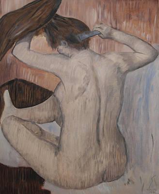 Pastel - Homage To Degas by Masami Iida