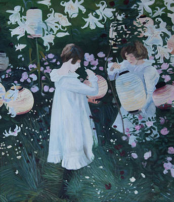 Painting - Homage To Sargent by Masami IIDA