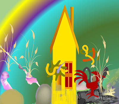 Painting - Home Sweet Home by Belinda Threeths