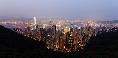 Photograph - Hong Kong by David Harding