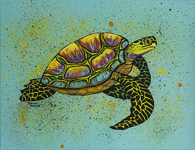 Painting - Honu by Darice Machel McGuire