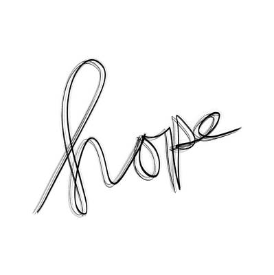 Drawing - Hope by Bill Owen