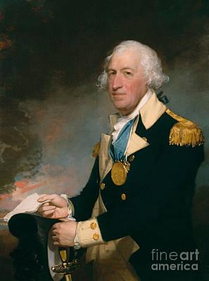 Gilbert Painting - Horatio Gates by Gilbert Stuart