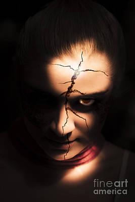 Devils Head Photograph - Horror by Jorgo Photography - Wall Art Gallery