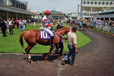 Churchill Downs Photograph - Horse Racing by Jill Lang