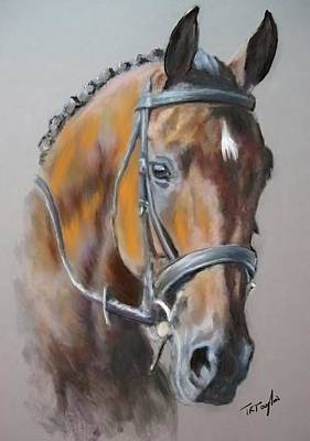 Painting - A Trust Steed. by Ralph Taylor