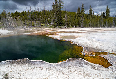 Photograph - Hot Spring by Michael Chatt