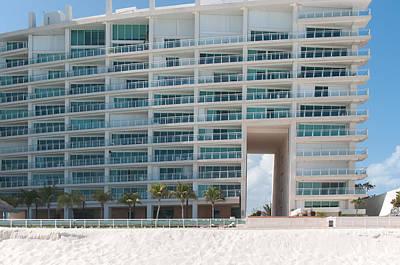 Digital Art - Hotel Zone Cancun by Carol Ailles
