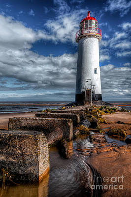 Talacre Photograph - House Of Light by Adrian Evans