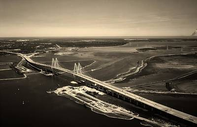 Photograph - Houston Shipping Channel by L O C
