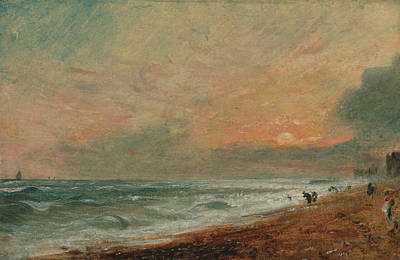 Painting - Hove Beach by John Constable