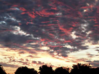 Photograph - How About Them Clouds by Cyryn Fyrcyd