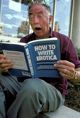 Photograph - How To Write Erotica by Carl Purcell