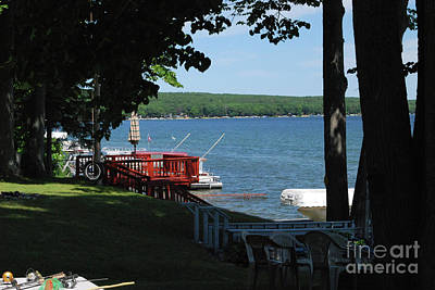 Photograph - Hubbard Lake by Gary Wonning